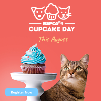 RSPCA Cupcake Day this August - Register Now