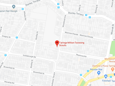 RSPCA School For Dogs Training Classes Toowong Location Map