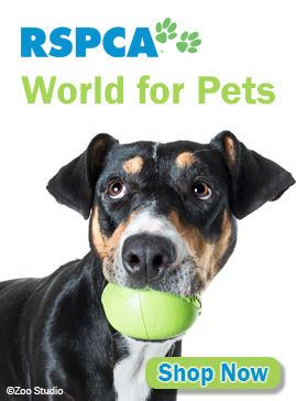 Shop Now at RSPCA World for Pets